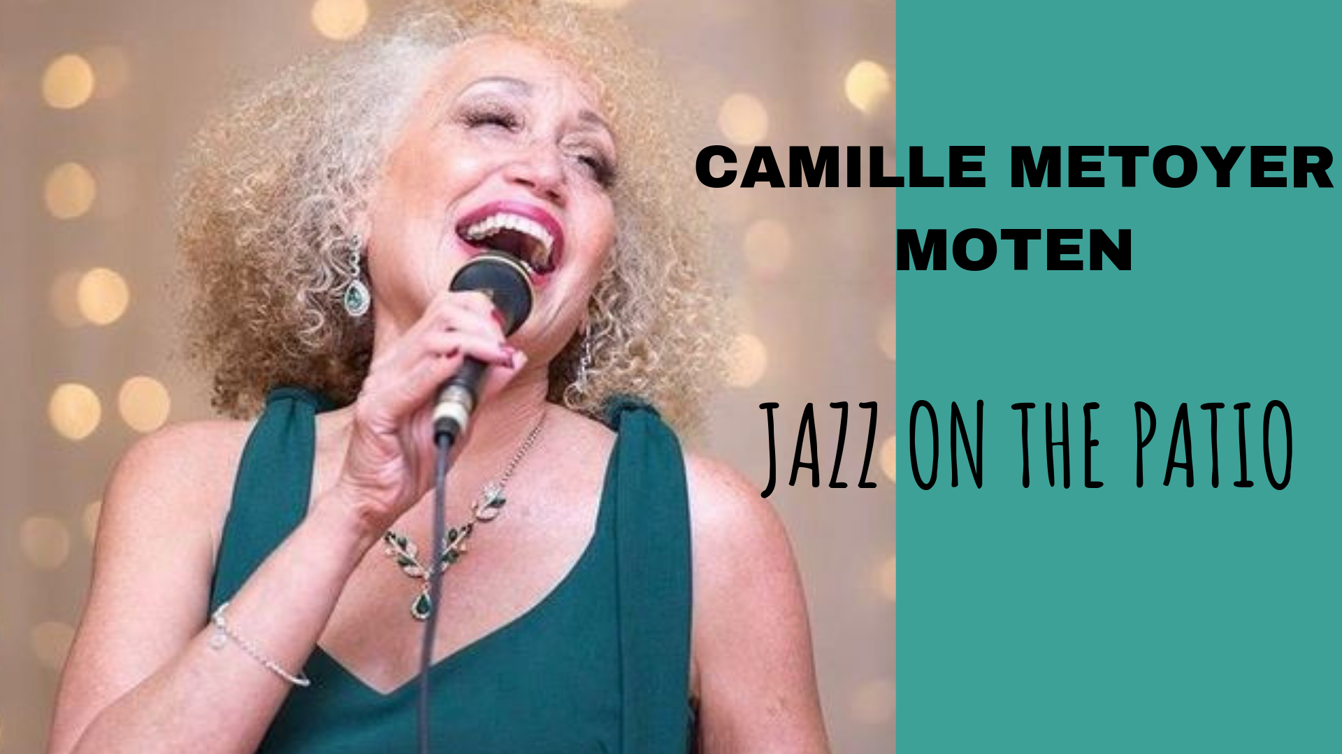 Camille Metoyer Moten: Jazz on the Patio – Vesper Concerts